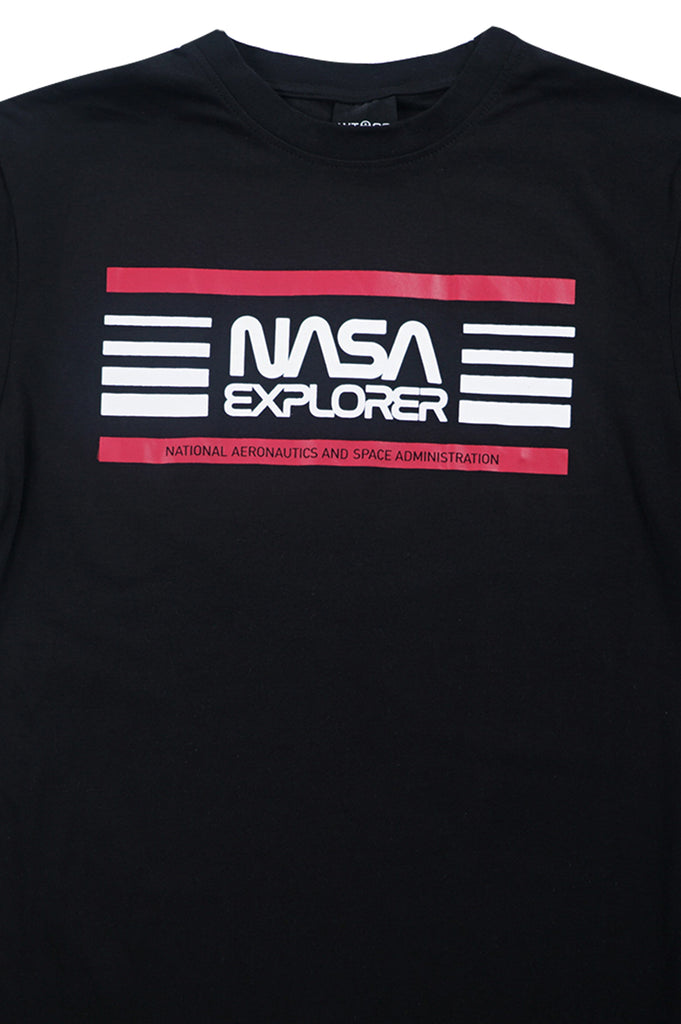 Aao Fashion Men Nasa Logo S/S Tee
