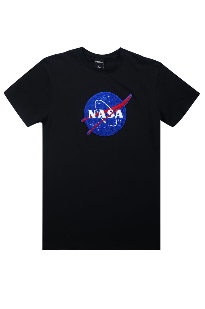 Aao Fashion Men Nasa Chenillel Patch S/S Tee