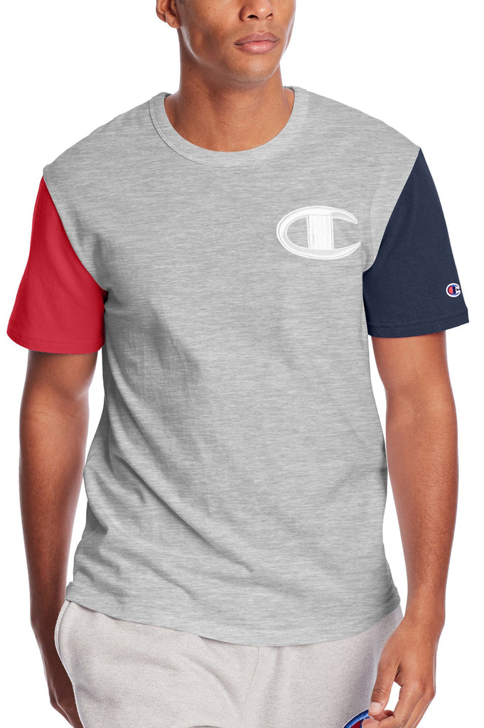 Champion Men Heritage Colorblock S/S Tee