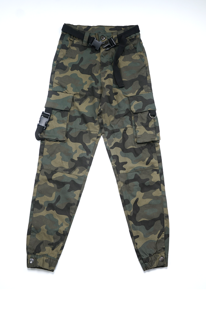 Southpole Women Twill Pants W/Cargo Detail