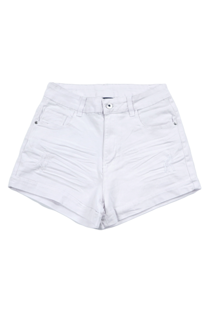Southpole Women Twill Cuffed Short