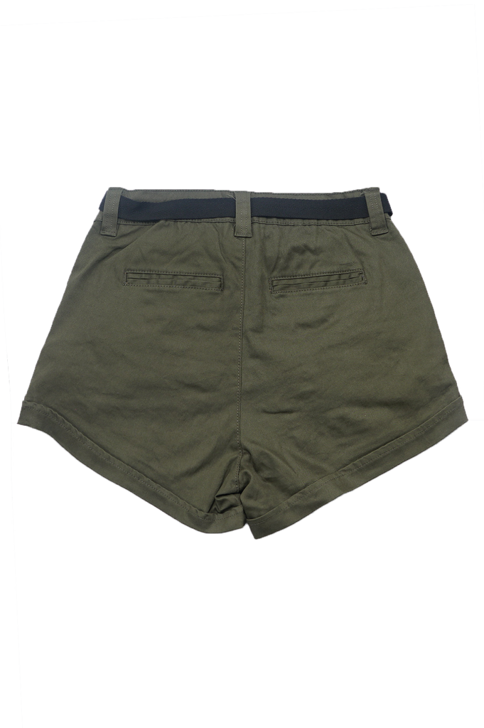 Southpole Women Twill Short W/Cargo Detail