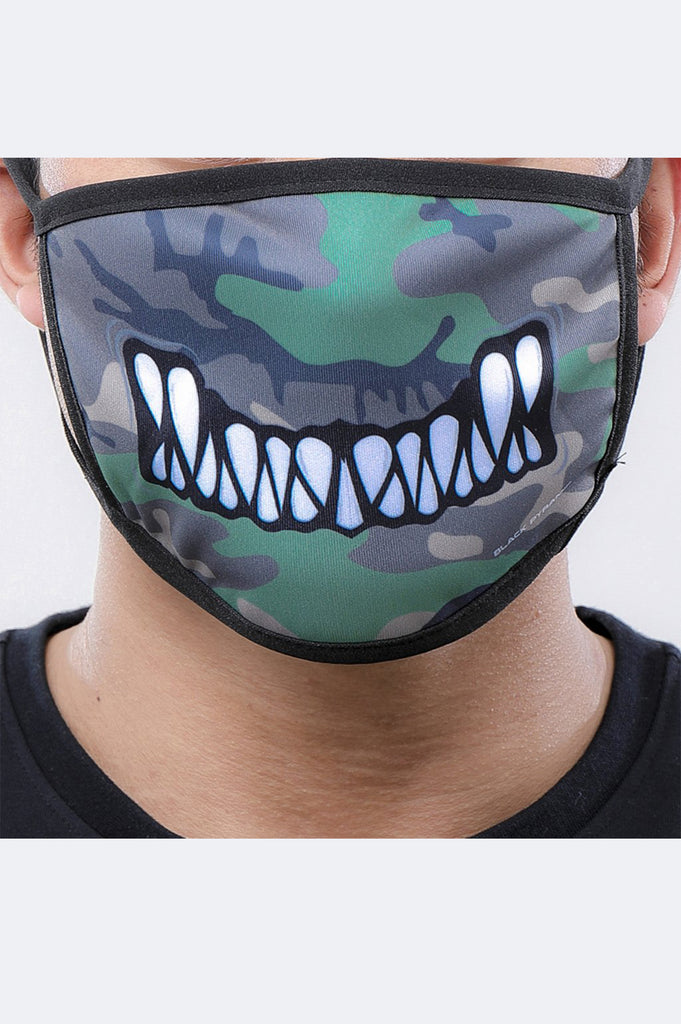 Black Pyramid Acc Monster Bite Face Mask