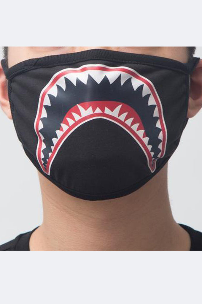 Hudson Acc Shark Mouth Face Mask