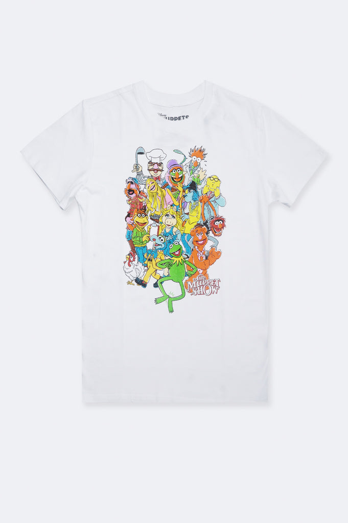 Aao Fashion Women Puppet Party Graphic Tee