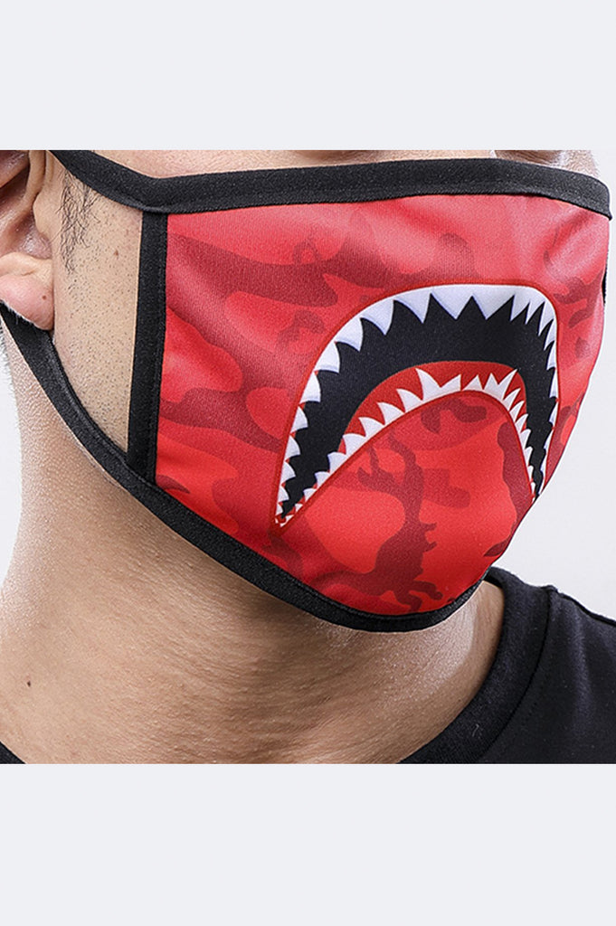 Hudson Acc Sharkmouth Face Mask