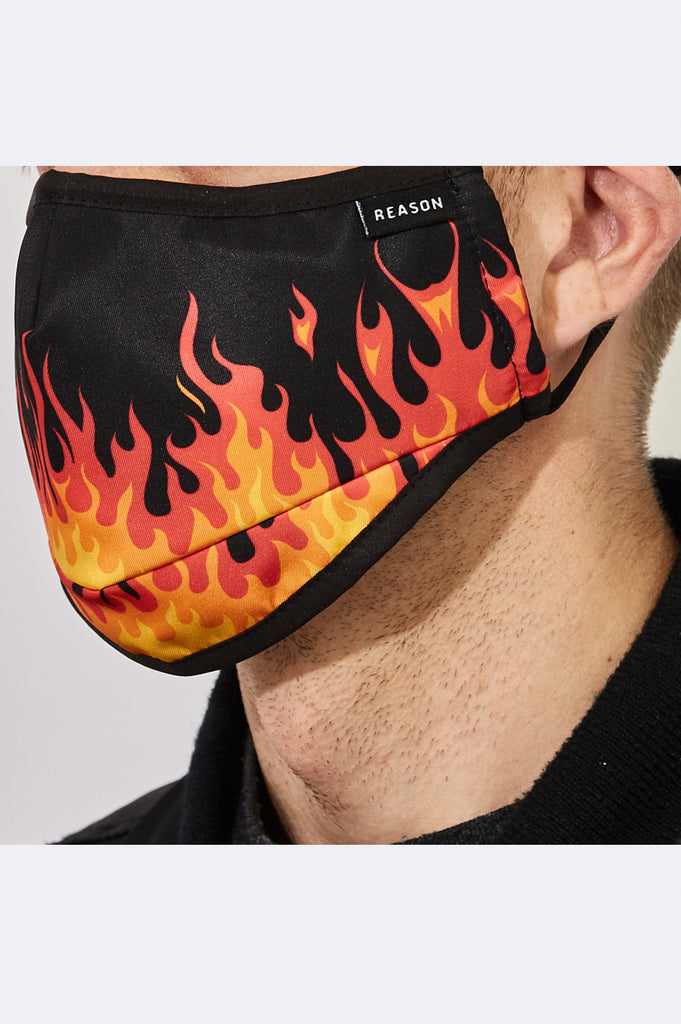 Reason Acc Flame Face Mask