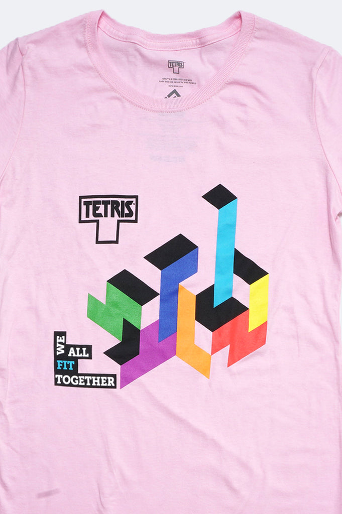 Aao Fashion Women Tetris Print Graphic Tee