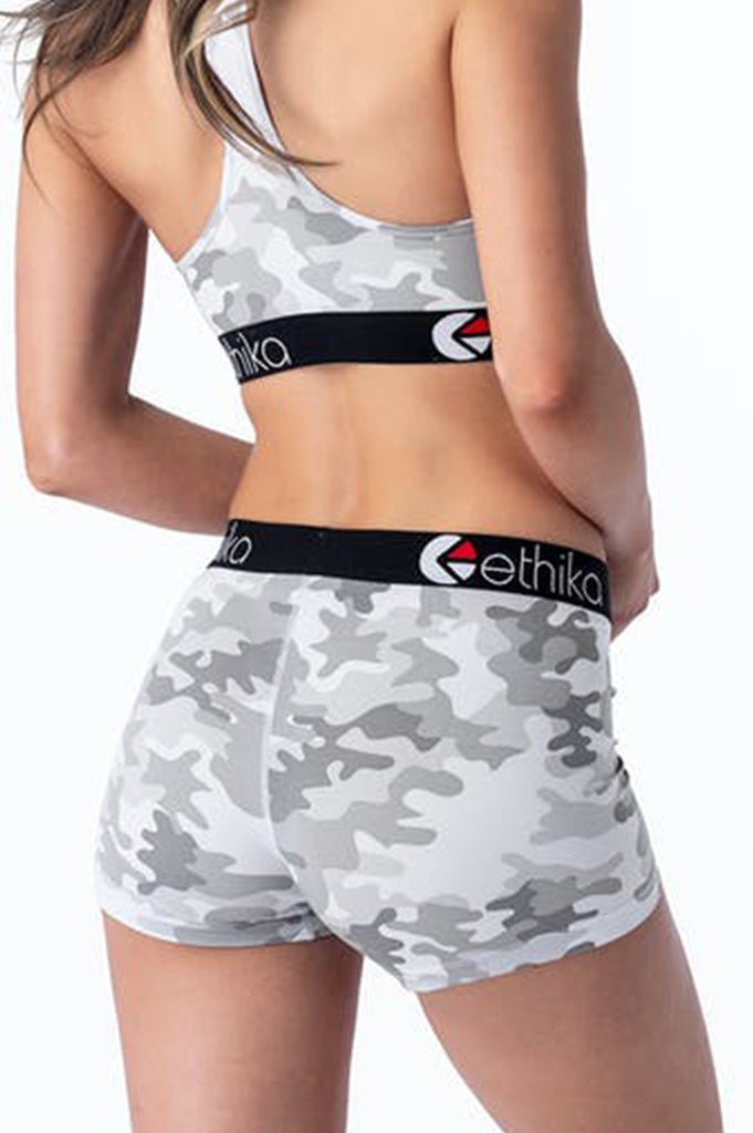 Ethika Women Cloud Camo - Womens Staple  Shorts
