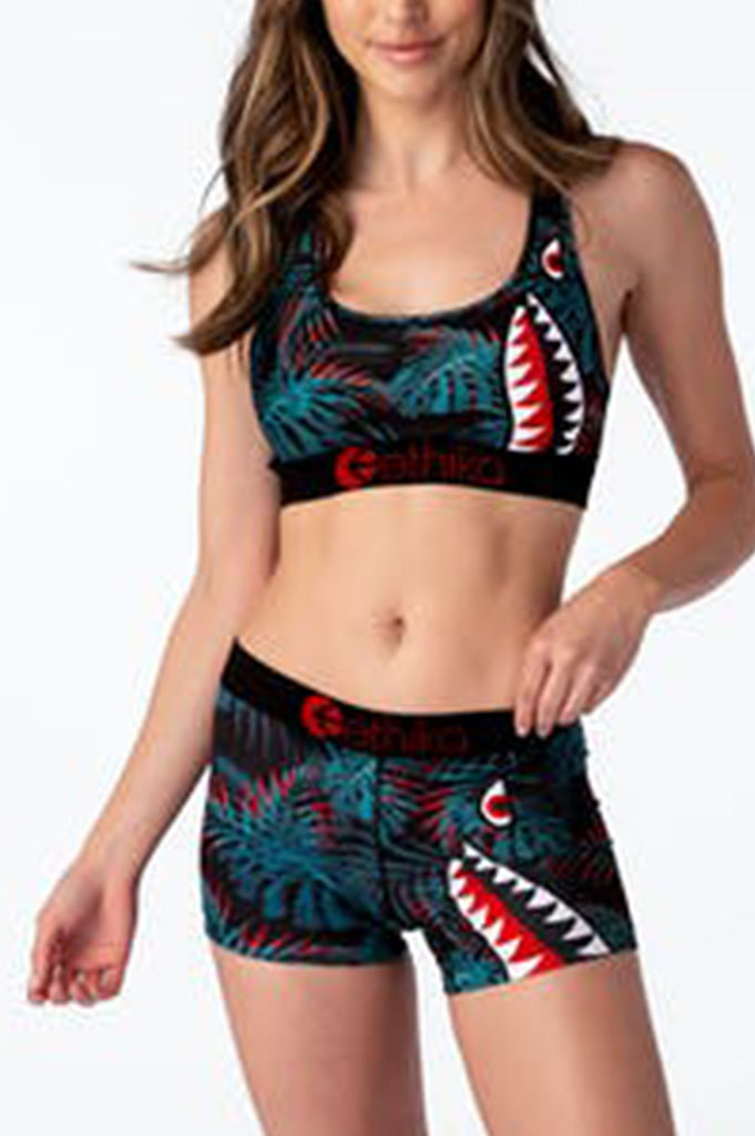 Ethika Women Bomber Lava - Womens Staple  Shorts