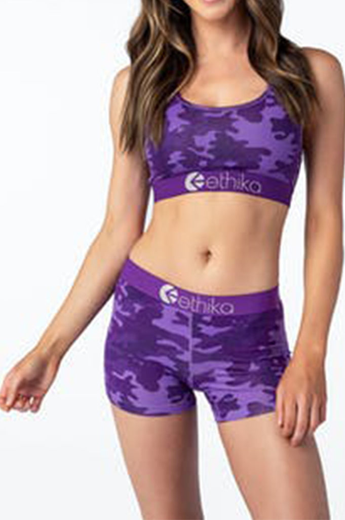 Ethika Women Punch Camo - Womens Staple Shorts