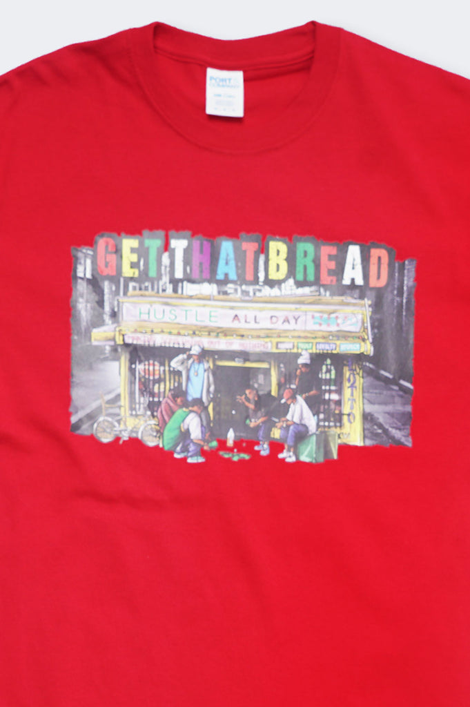 Aao Fashion Men Verbiage Get That Bread Graphic Tee