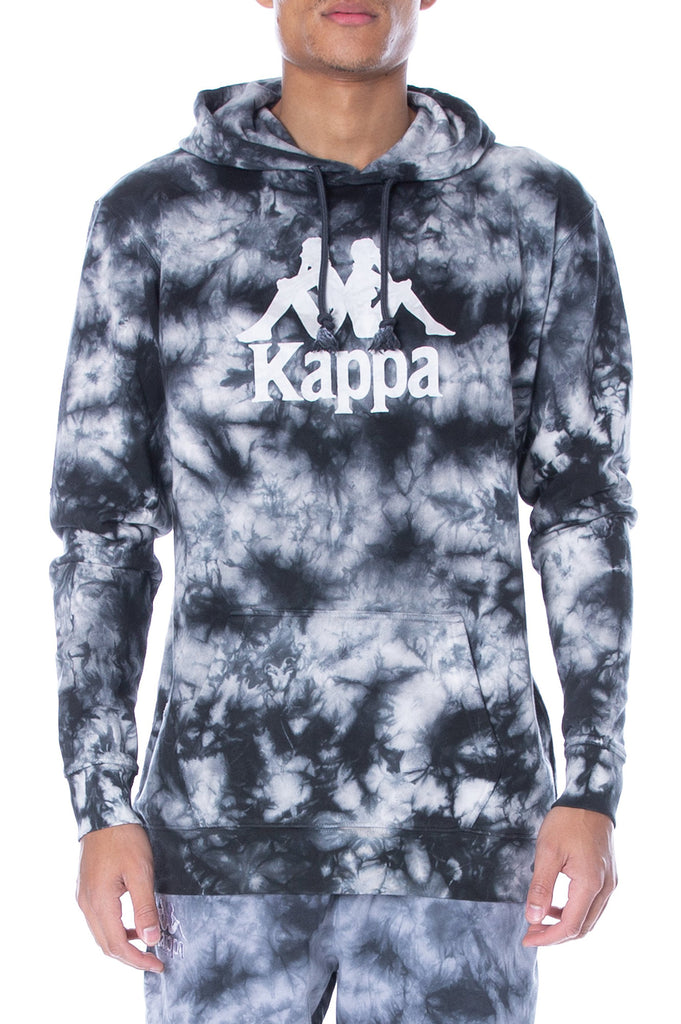 Kappa Men Tie Dye Authentic Commos Hoodie