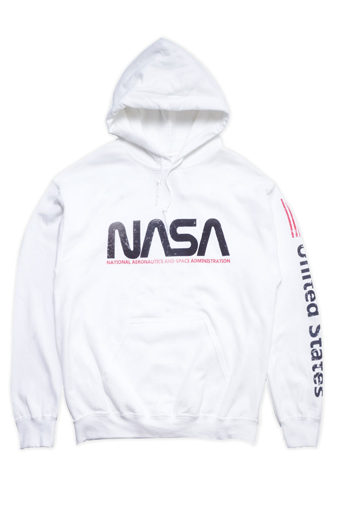Aao Fashion Men Nasa With Sleeve Print Hoodie