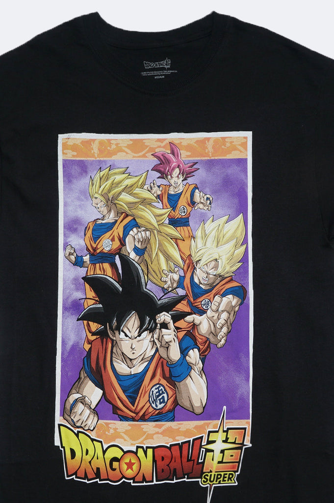 Aao Fashion Men Dragonball Goku Transformation Graphic Tee