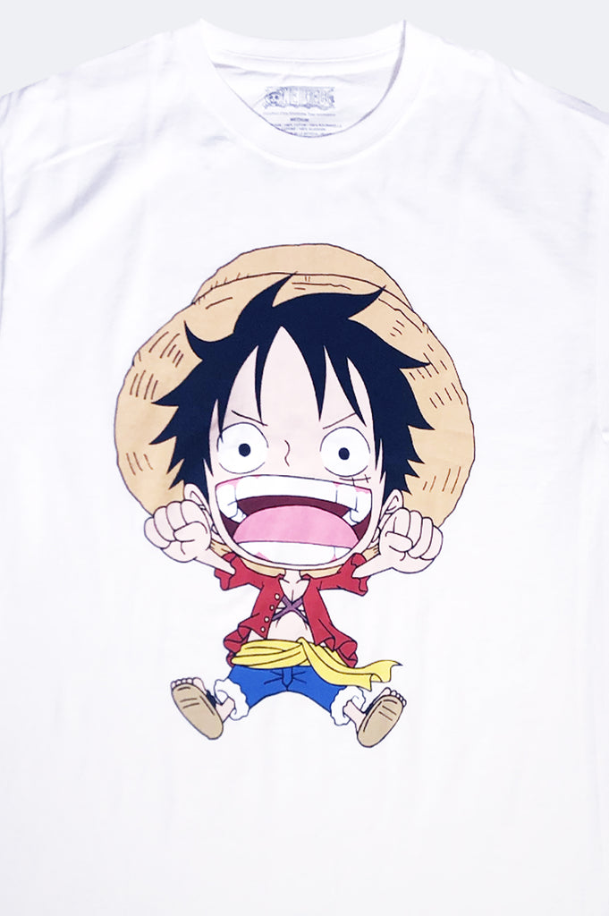 Aao Fashion Men One Piece Big Face Graphic Tee