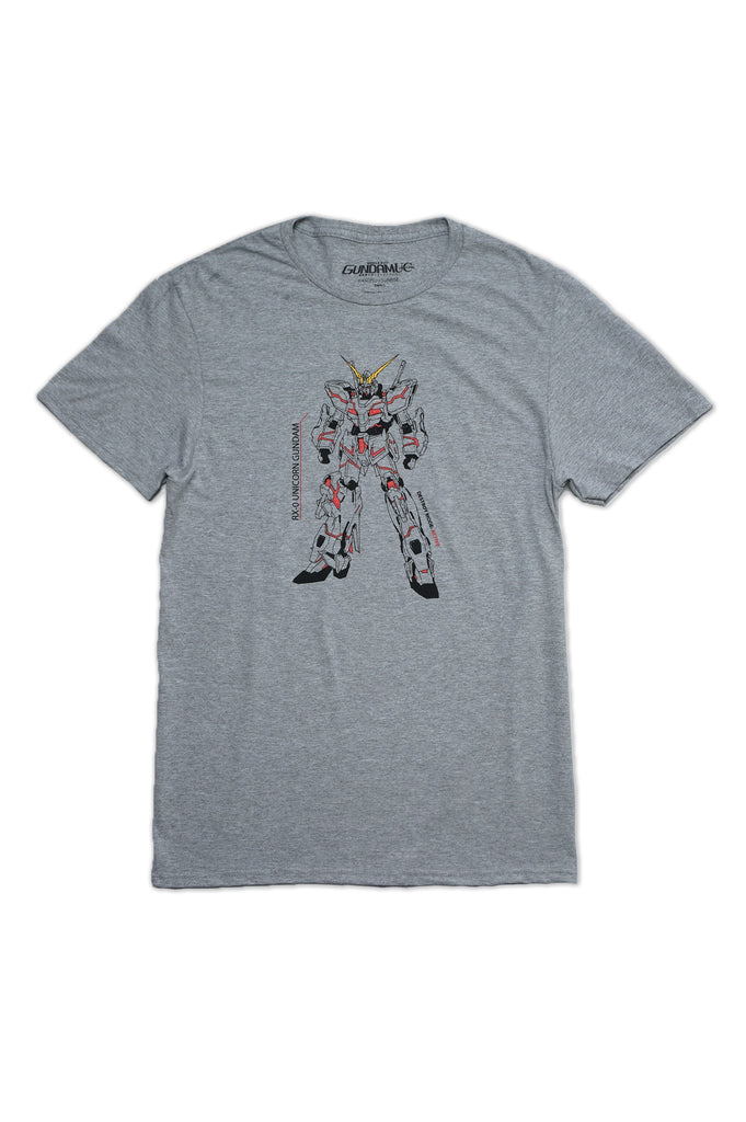 Aao Fashion Men Gundam Wing Graphic Tee