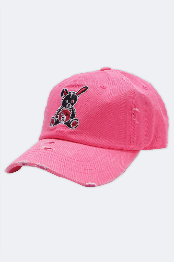 Aao Fashion Acc Bunny Bear Dad Hat