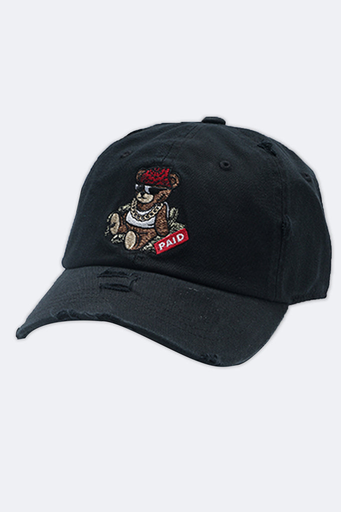 Aao Fashion Acc Paid Bear Dad Hat