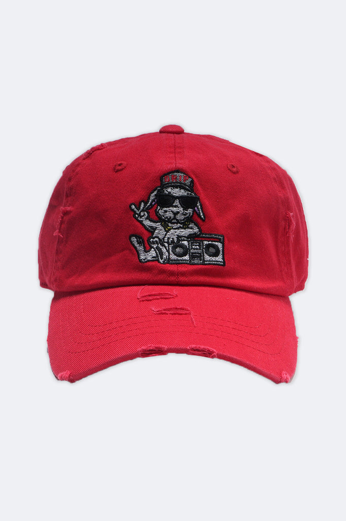 Aao Fashion Acc Rabbit Drip Dad Hat