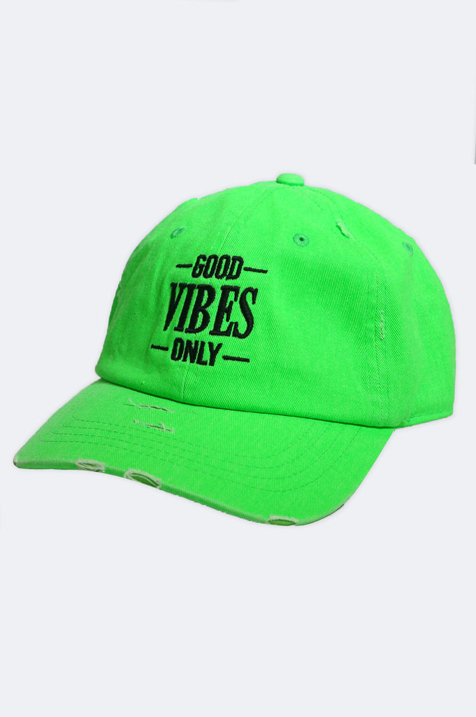 Aao Fashion Acc Good Vibes Only Dad Hat
