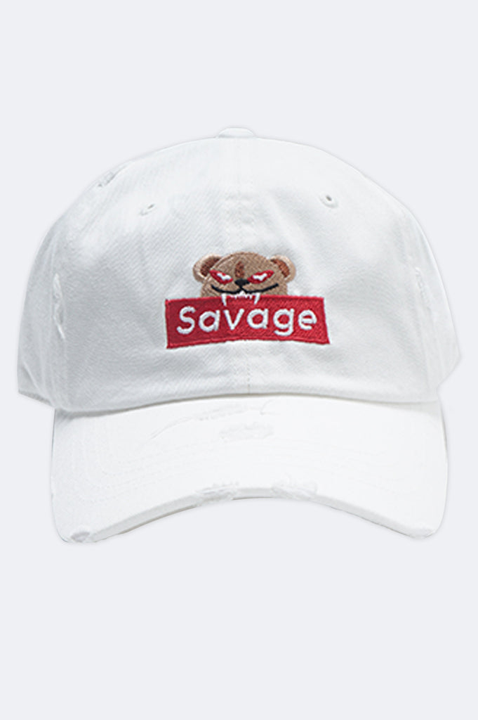 Aao Fashion Acc Bear Savage Dad Hat