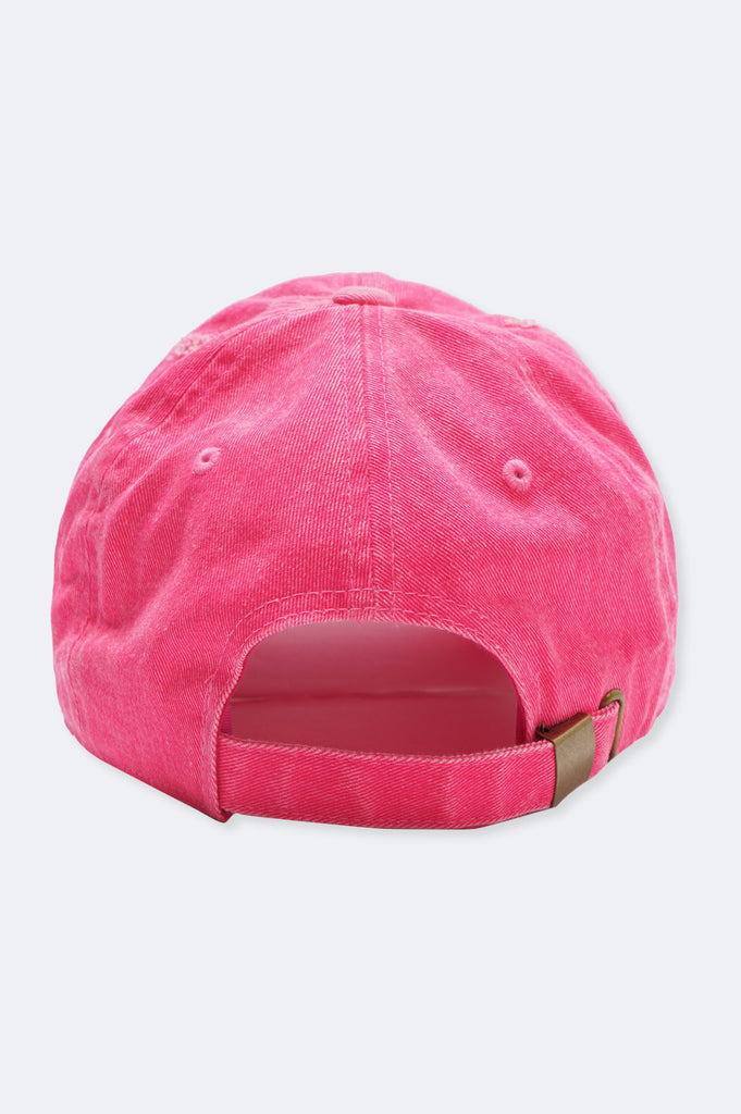 Aao Fashion Acc Rose Dad Hat