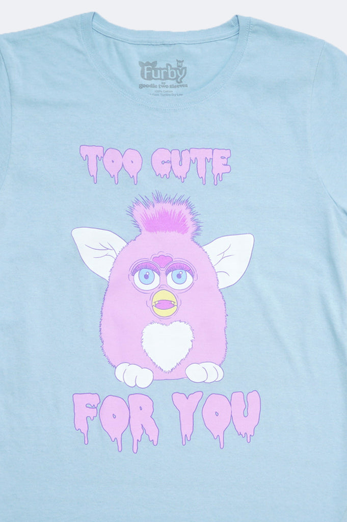Aao Fashion Women Furby Too Cute For You Graphic Tee