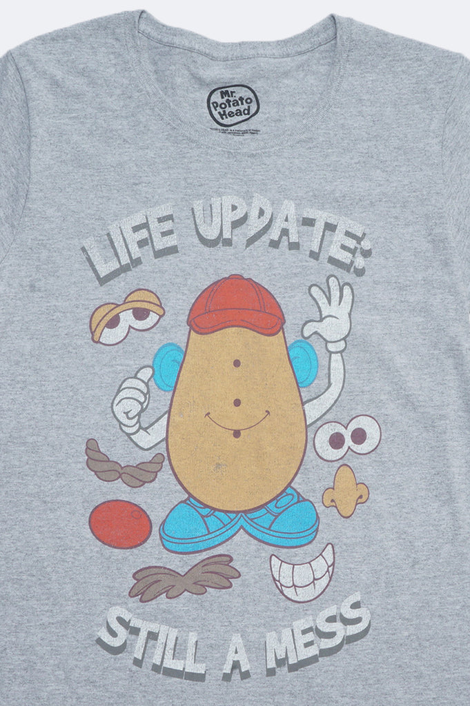 Aao Fashion Women Mr Potato Head Graphic Tee