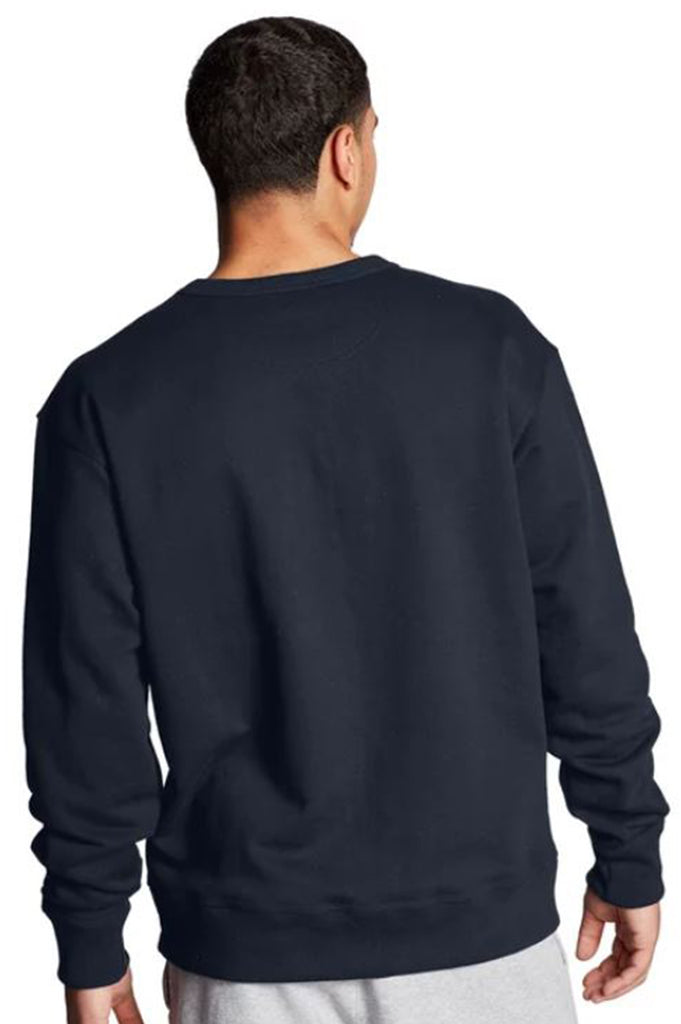 Champion Men Powerblend Applique Crewneck Sweatshirt