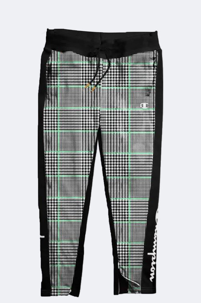 Champion Women Houndstooth Slim Leg Track Pants