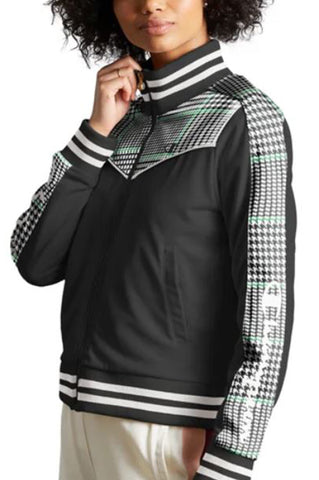 Champion Women Track Jacket - Houndstooth