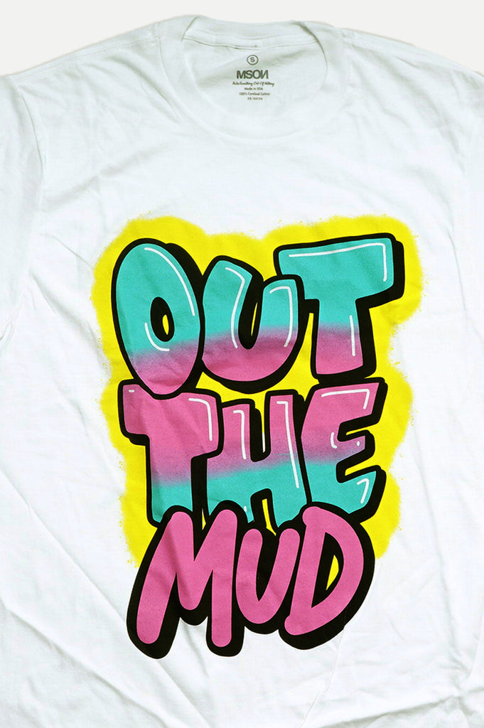 Aao Fashion Men  Out The Mud Graphic Tee