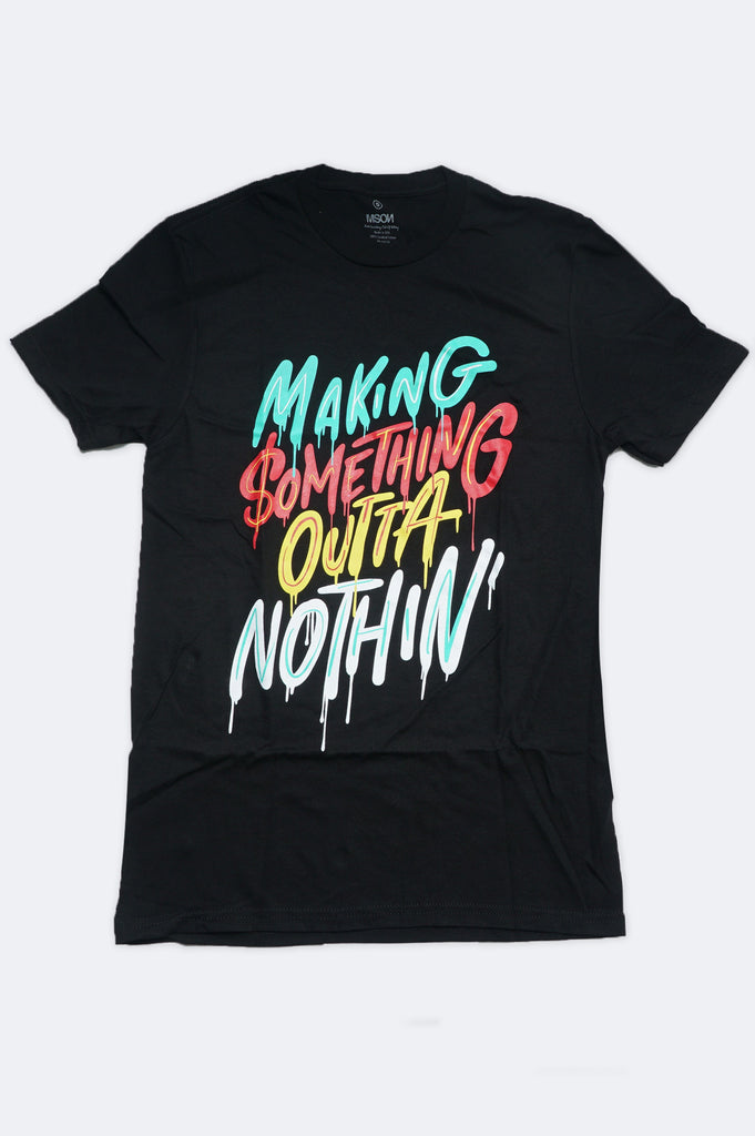 Aao Fashion Men Outta Nothin Graphic Tee