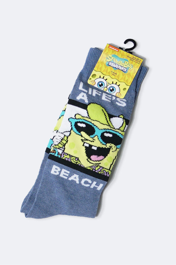 Aao Fashion Acc Cartoon Summer Spongebob Mixed Socks