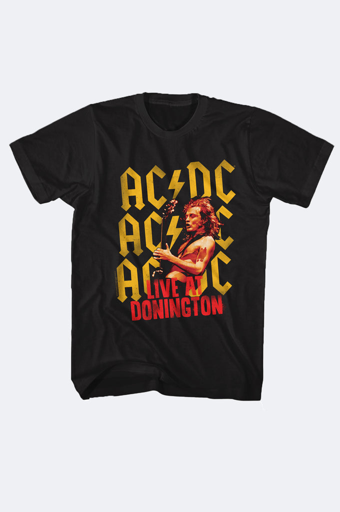 Aao Fashion Men Acdc Graphic Tee