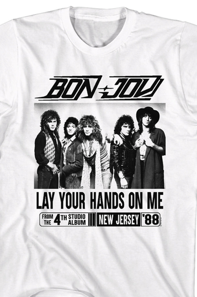 Aao Fashion Men Bonjovi Graphic Tee