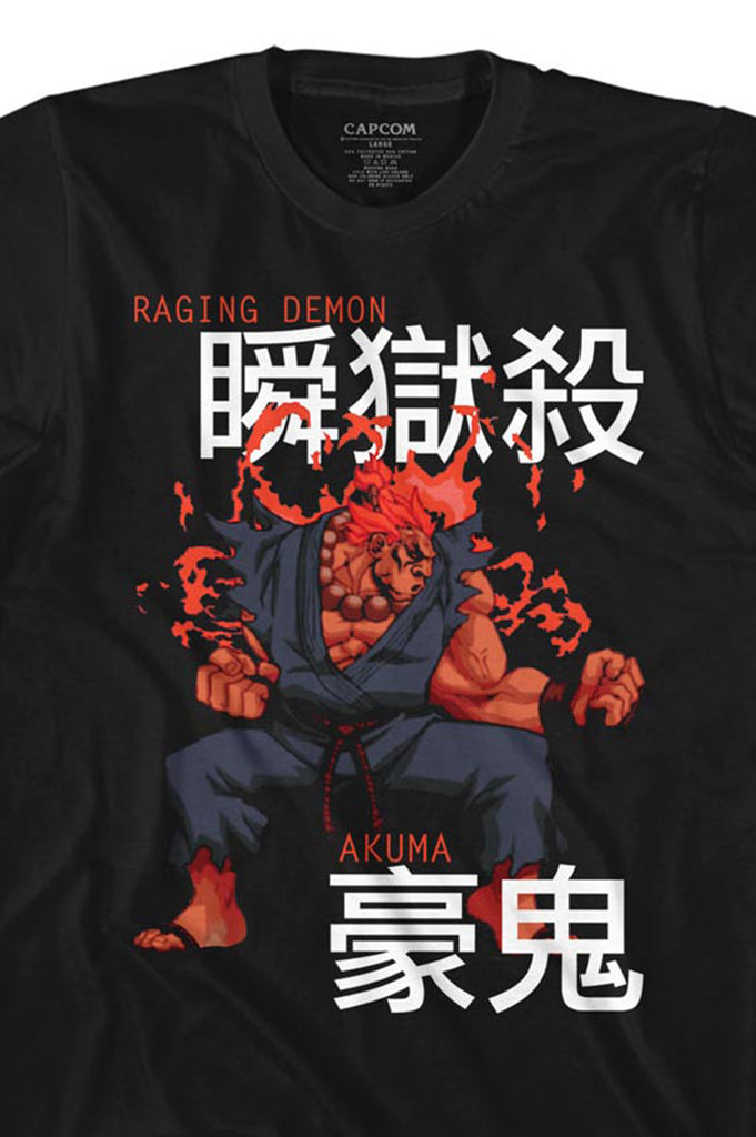 Aao Fashion Men Street Fighter Graphic Tee
