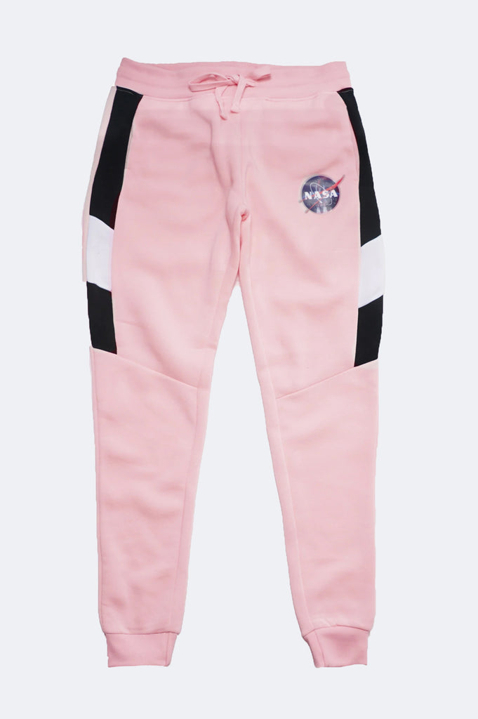 Southpole Women Nasa Logo Fleece Jogger Pants