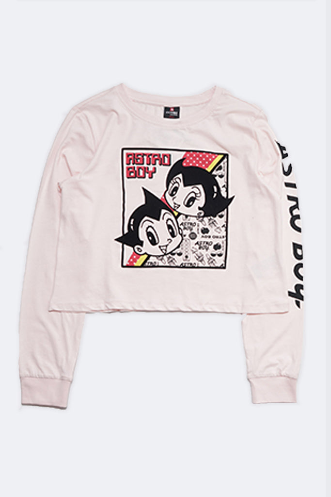 Southpole Women Astro Boy Graphic Long Sleeve Tee
