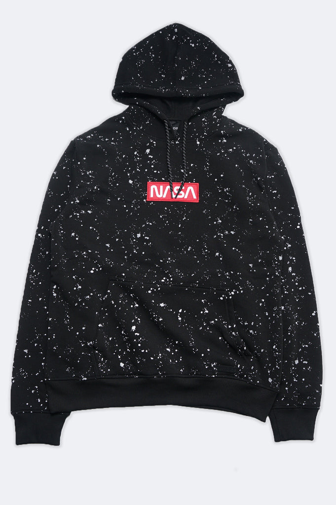 Aao Fashion Men Nasa  Fleece Pullover Hoodie