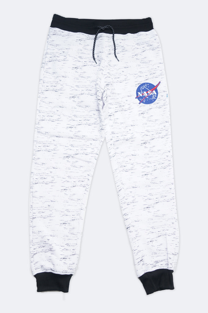 Aao Fashion Men Nasa Logo Fleece Pants