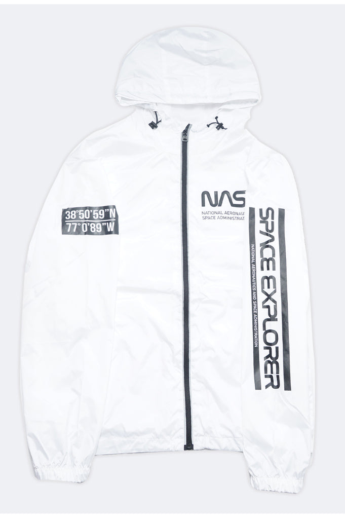 Aao Fashion Men Nasa Windbreaker Jacket
