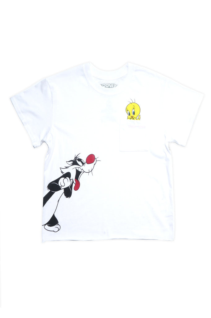 Aao Fashion Women Tweety Bird Slya Pkt Character Graphic Tee