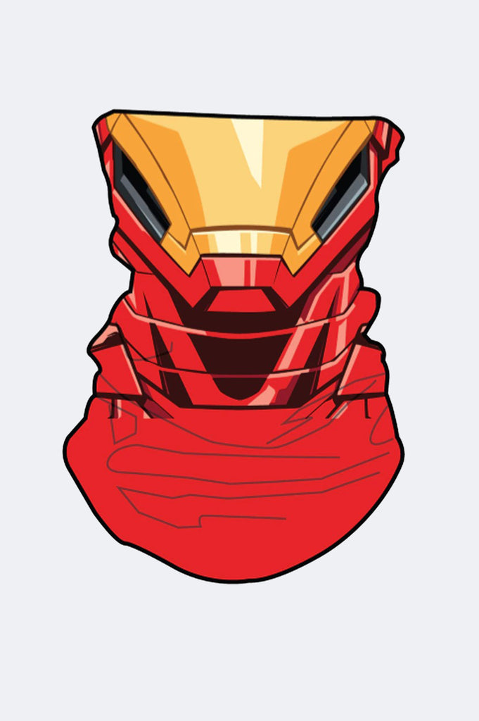 Aao Fashion Acc  Iron Man Neck Gaiter Face Cover