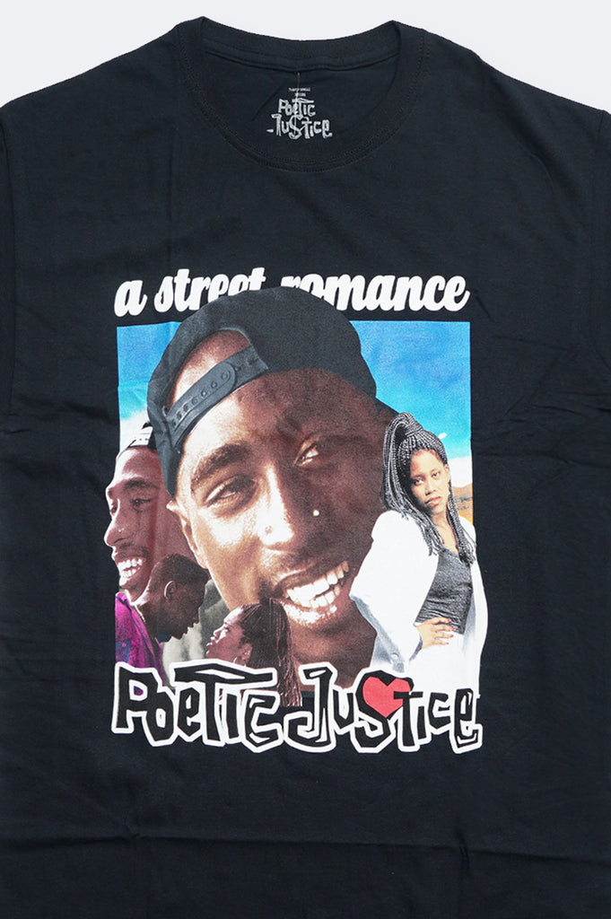Aao Fashion Men Heritage Poetic Justice Tupac Graphic Tee