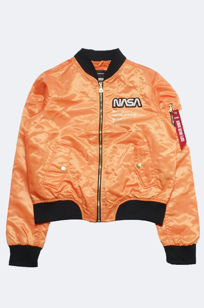 Southpole Women Nasa Ma1 Bomber Jacket