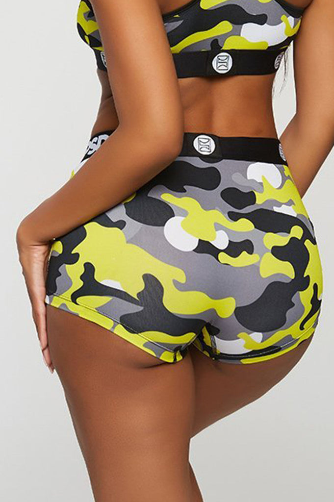 Psd Women Neon Warface Boy Short