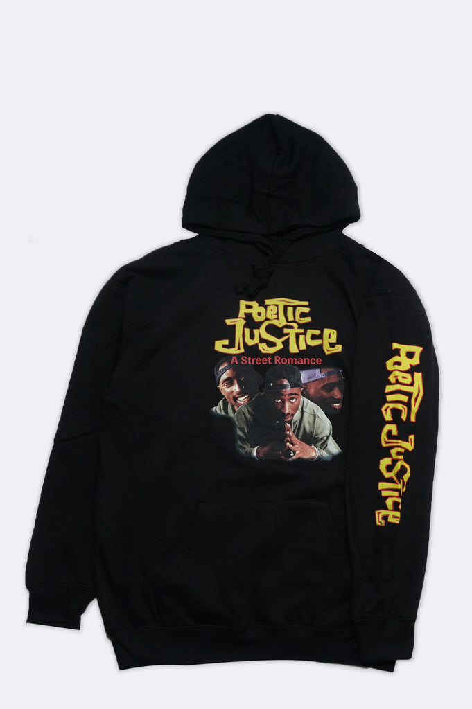 Aao Fashion Men Poetic Justice Tupac Pullover Hoodie