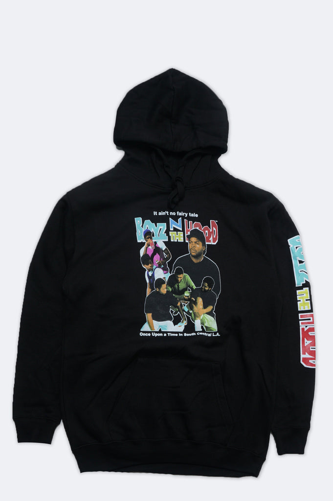Aao Fashion Men Boyz N The Hood Group Shot Pullover Hoodie
